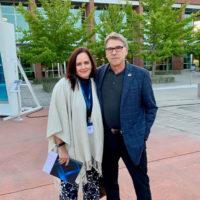 Carmen Bigles with Rick Perry
